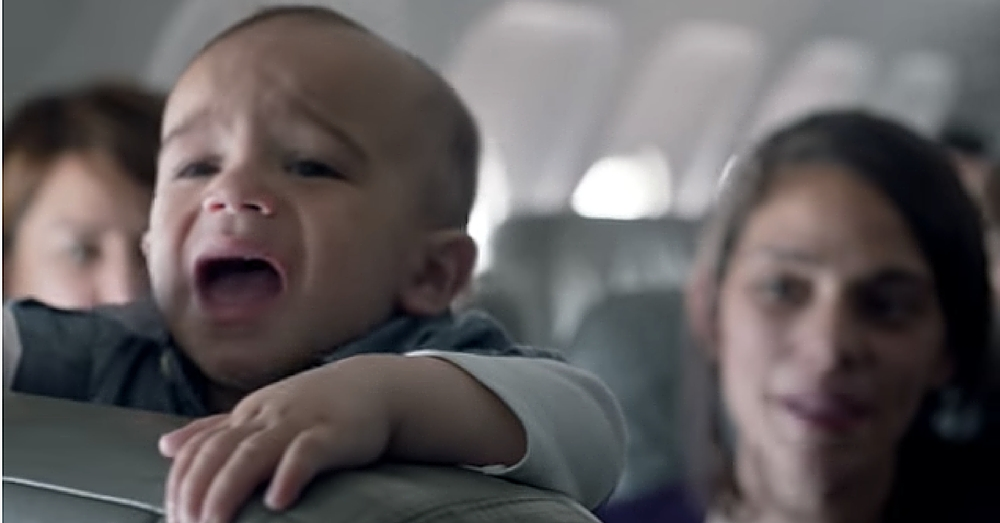 After What This Airline Just Did Passengers Are CHEERING Every Time A Baby Cries