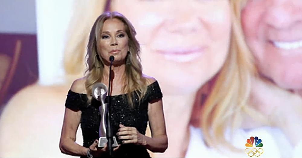 Kathie Lee Remembers Beloved Husband Frank Gifford In Poignant Award Speech