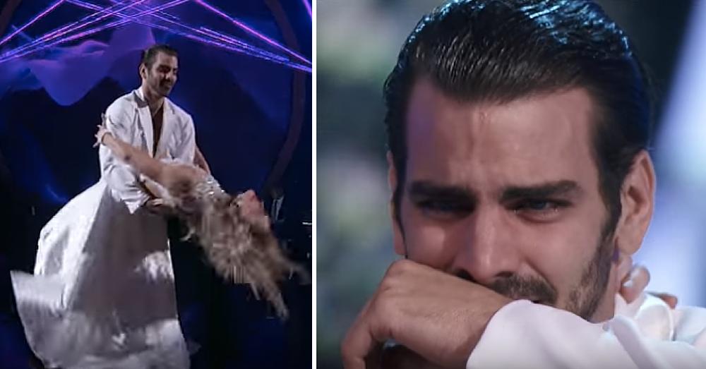 He Stunned With Final 'DWTS' Dance. But Then Judge Does Something That Leaves Him In Tears