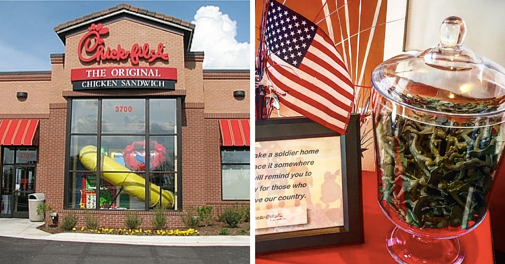 Chick-fil-A Restaurants Across Nation Honor Fallen Soldiers In Remarkable Way