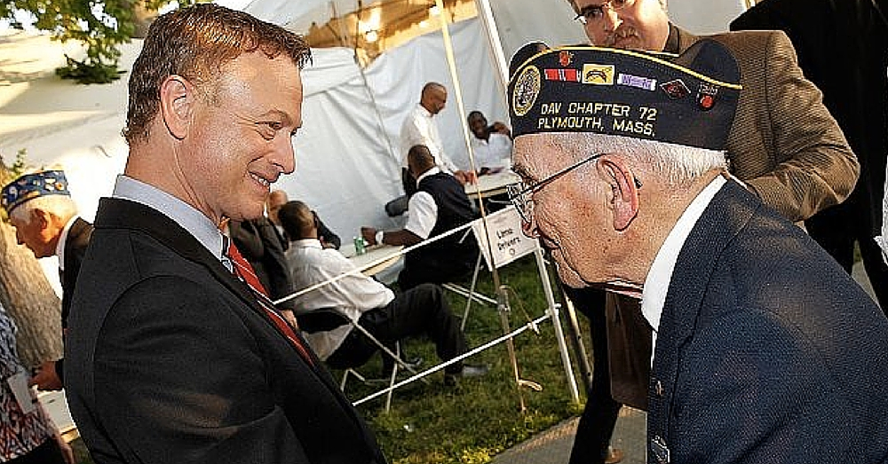 Actor Proves 'We Can Never Do Enough For Our Veterans' With This Touching Tribute
