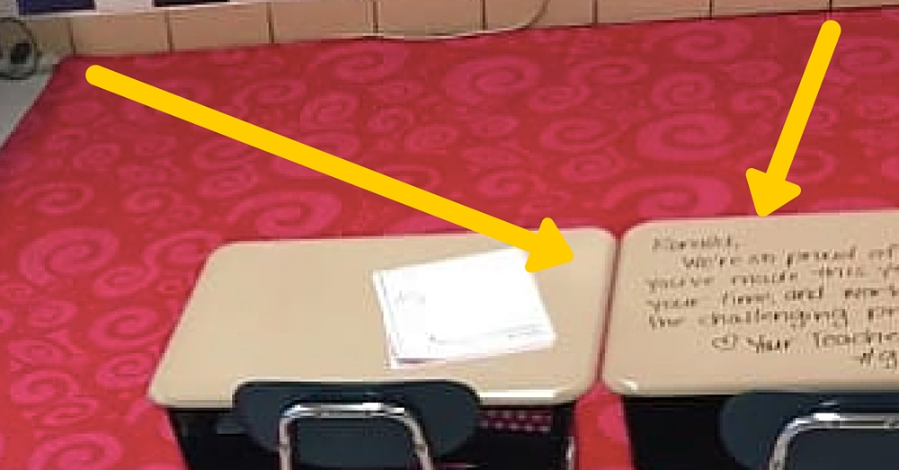 Student Walks In Class, Sees Something Written On Desk. What It Says Leaves Her In Tears