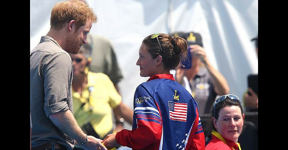 Swimmer Chases Prince Harry Down To Return Gold Medal, And There's An Important Reason Why