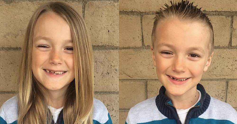 7-Yr-Old Boy Who Donated Hair To Kids With Cancer Receives Some Heartbreaking News