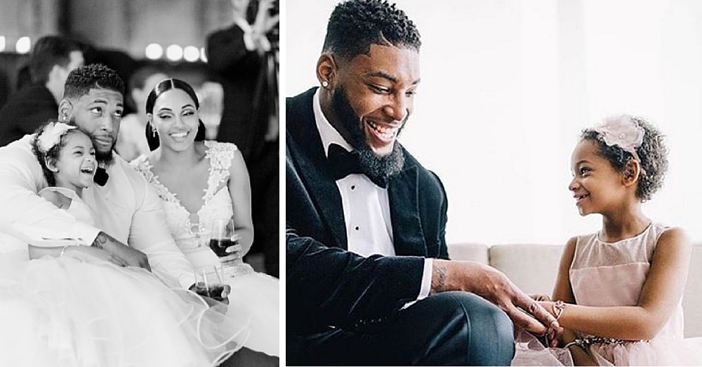 NFL Player Devon Still Gets Married, But It's His Now Cancer-Free Daughter Who Steals The Show