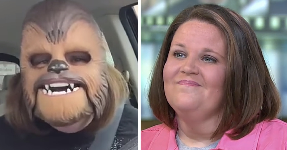 'Chewbacca Mom' Shares Best Part Of Viral Fame…And It's Not What You Would Expect