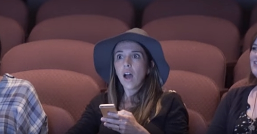Mom Thinks She's Going To Movie, But What She Sees When It Starts Leaves Her In Tears