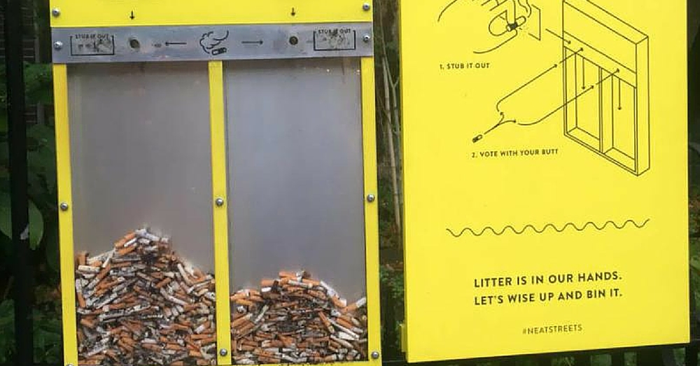 Who Knew Some Old Dirty Cigarette Butts And Chewed Gum Could Be Used For This…