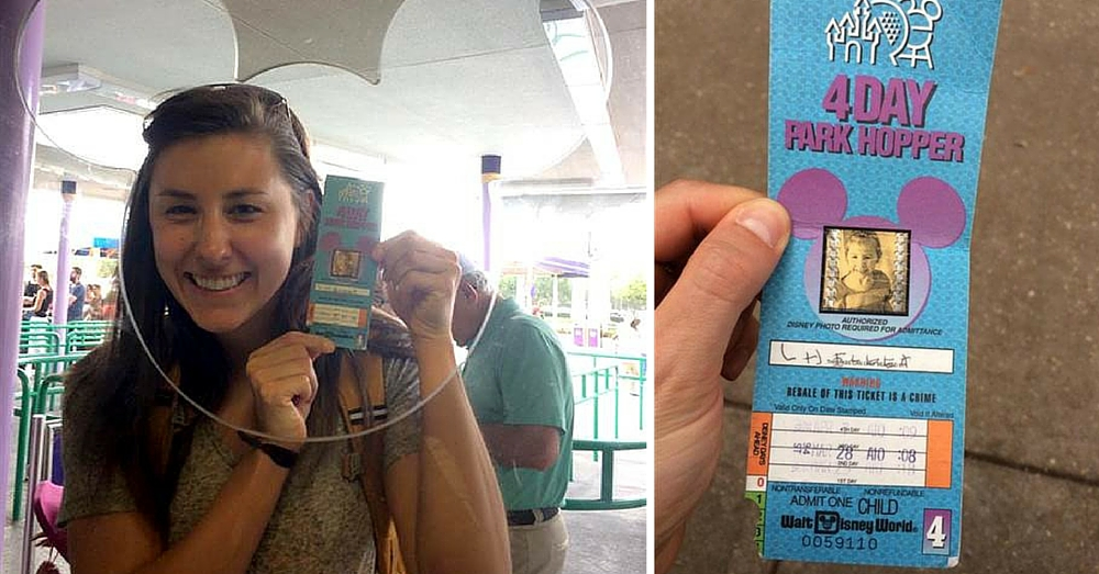 Disney World Honors Woman's Unused Ticket…From When She Was 4