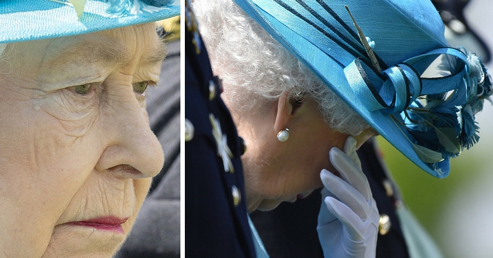 Queen Surprises Everyone With Rare Show Of Emotion During Tribute To Fallen Heroes