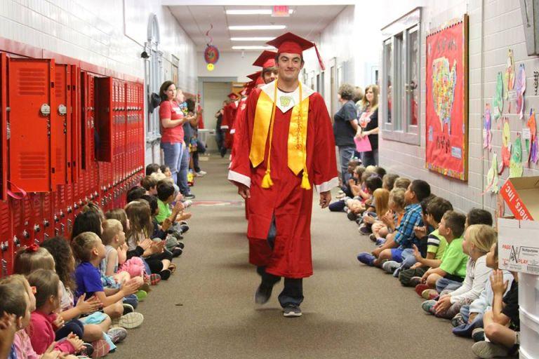 Texas School's 'Senior Walk' Tradition Will Make Your Heart Explode