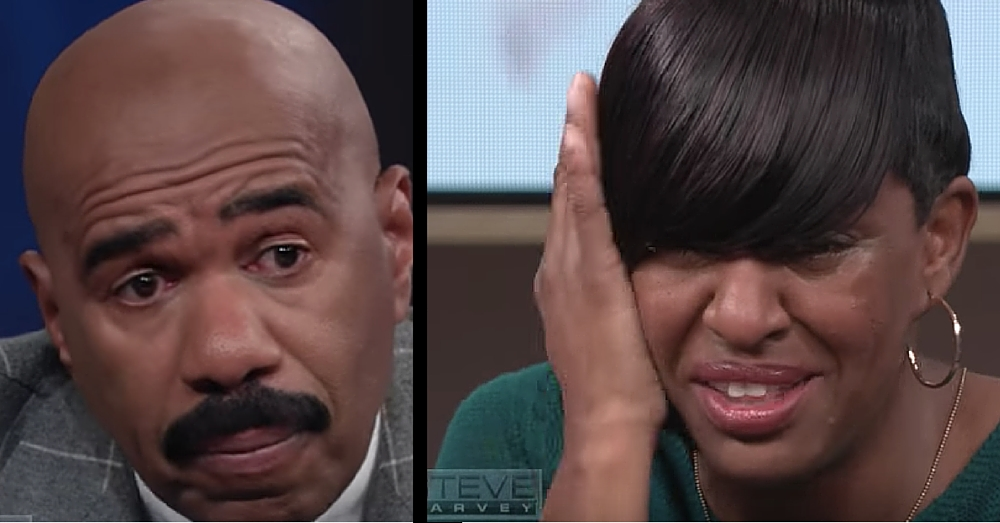 Single Mom's Story Brings Steve Harvey To Tears. What He Does Next Leaves Her Speechless