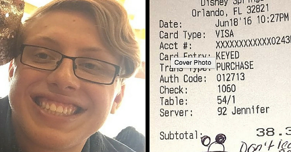 He Lost Friend In Orlando Shooting. Then Waitress Says Something That Gives Him Chills