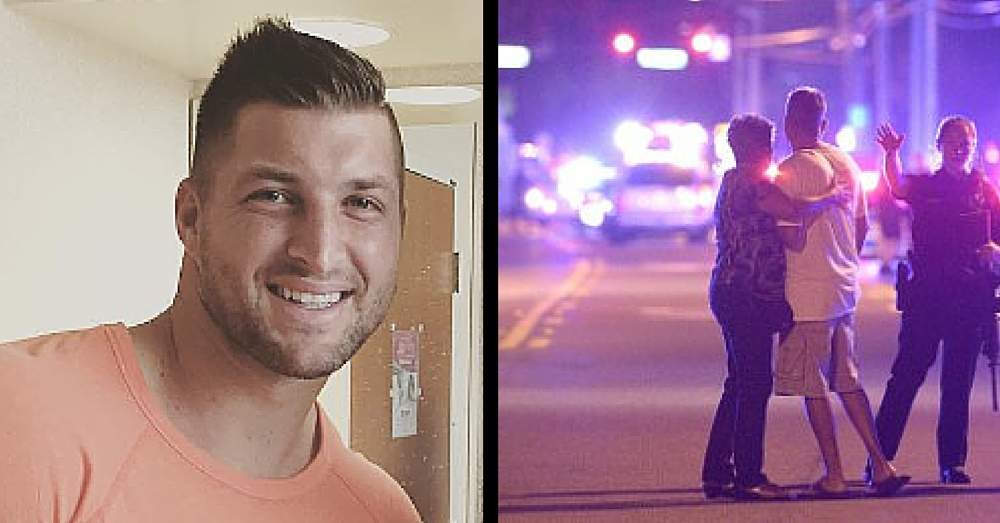 Orlando Shooting Victim Gets Special Visit From Former Teammate Tim Tebow