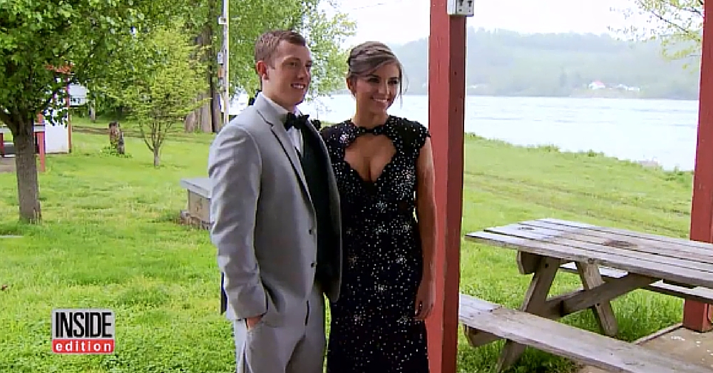 Teen Steps Out In Sparkling Prom Dress. Then Date Looks At Her Arm And Sees It…