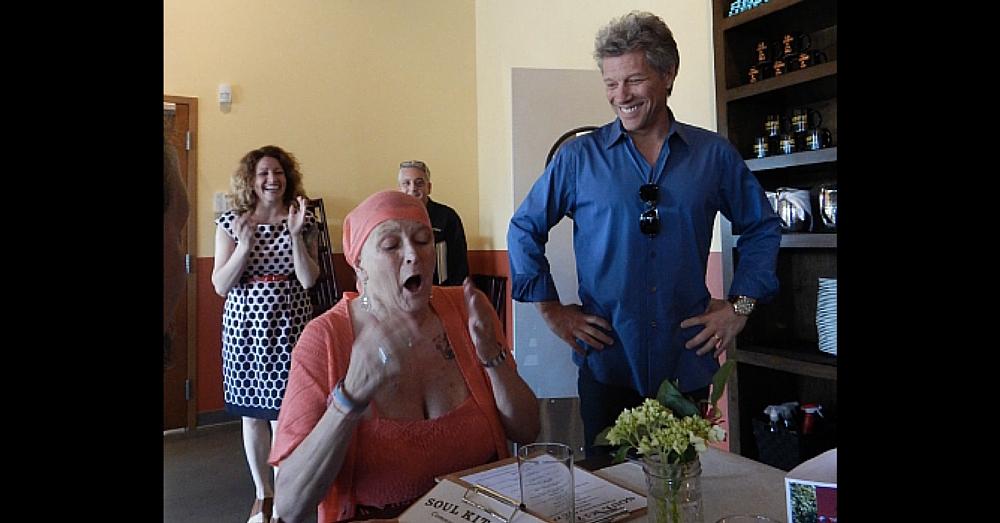 Jon Bon Jovi Surprises Fan Battling Cancer With Day She'll 'Never Forget'