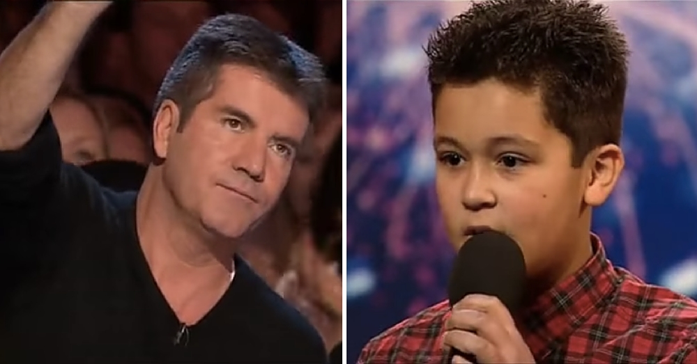 Simon Humiliates Him On 'Got Talent,' But Then Boy Does Something That Leaves Him Speechless