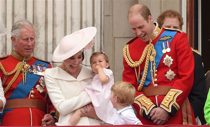 The ceremony is Queen Elizabeth II's annual birthday parade and dates back to the time of Charles II in the 17th Century when the Colours of a regiment were used as a rallying point in battle.