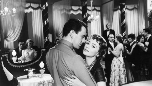 "Olivia de Havilland and John Forsythe star in the 1956 film ""The Ambassador's Daughter."" AP PHOTO/UNITED ARTISTS"