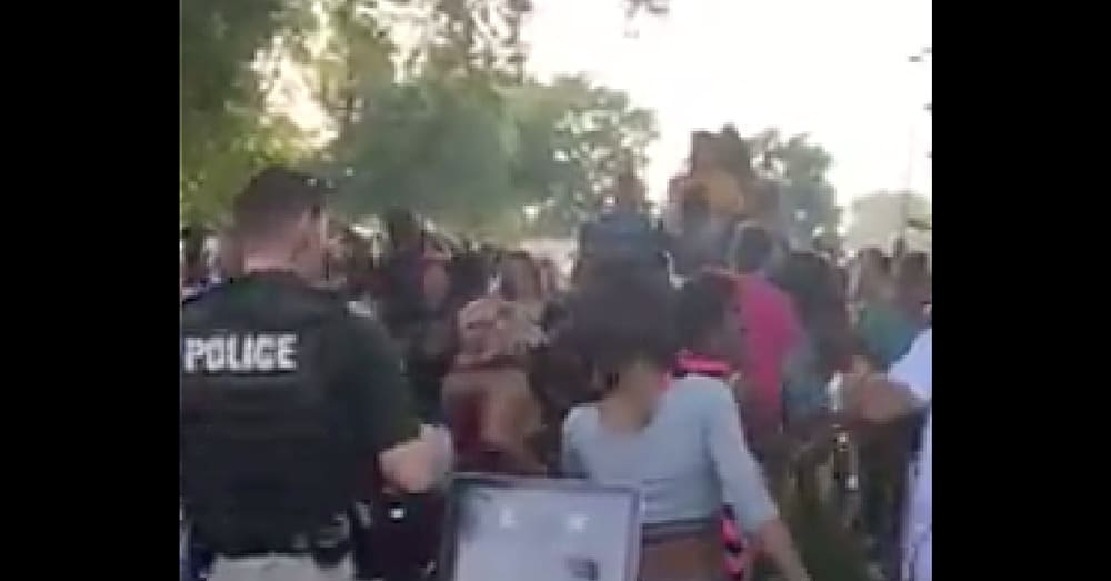 Cops Show Up To Black Lives Matter Meeting. Nobody Expected What Happens Next
