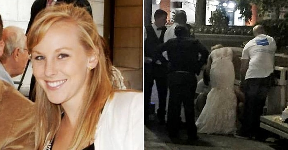 Bride Runs Out Of Church With Groom Close Behind. What She Does Next? He Didn't See This Coming…