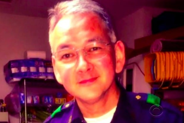 Dallas police Sergeant Mike Smith (Image source: CBS News)