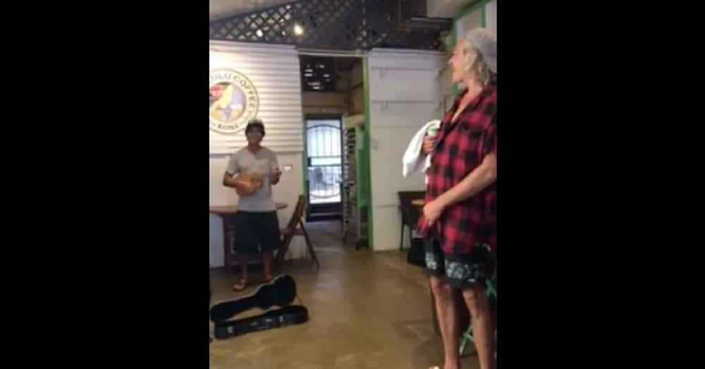 He Starts Playing Song In Coffee Shop, Has No Idea Who's Standing Right In Front Of Him…