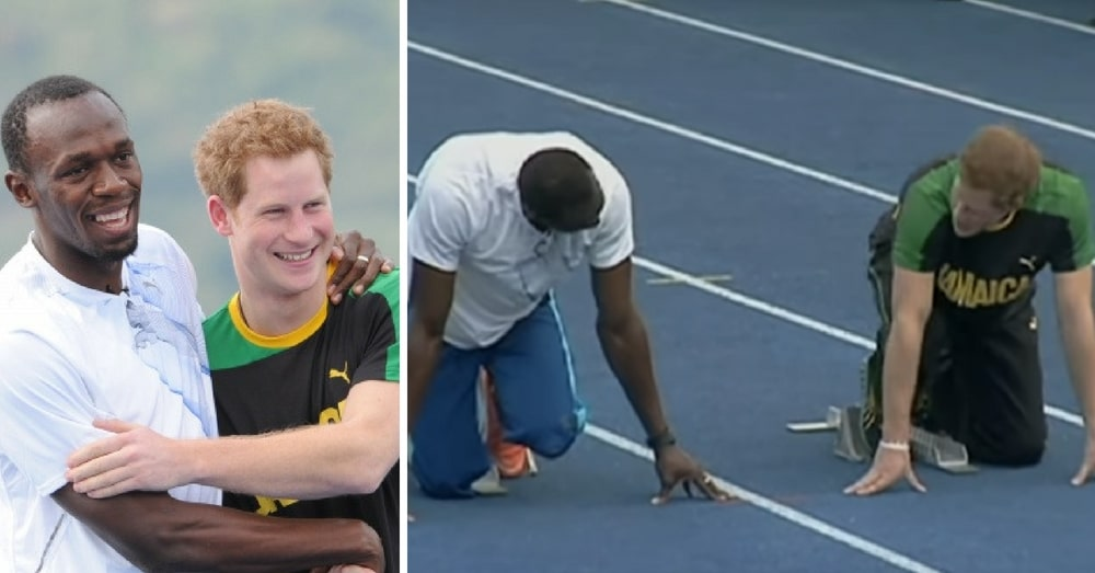 Prince Harry Challenges Usain Bolt To A Race And Reminds Us Why We All Love Him