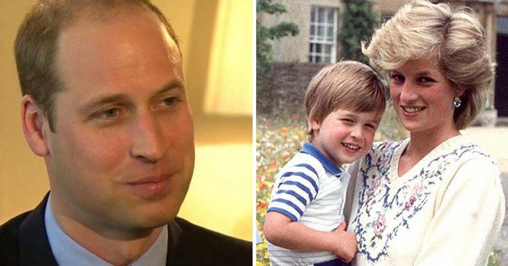 Prince William Opens Up About Heartbreak Over Princess Diana's Death