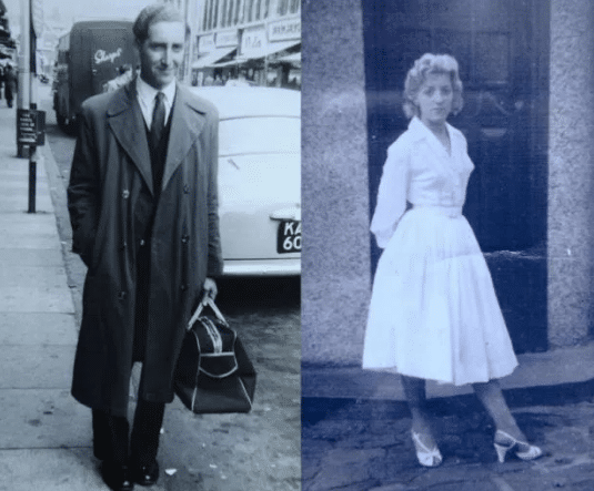 The stylish couple met in 1956 (Picture: Wales News Service)