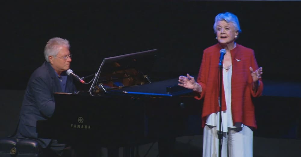 Angela Lansbury Reprises Iconic 'Beauty And The Beast' Song 25 Years Later