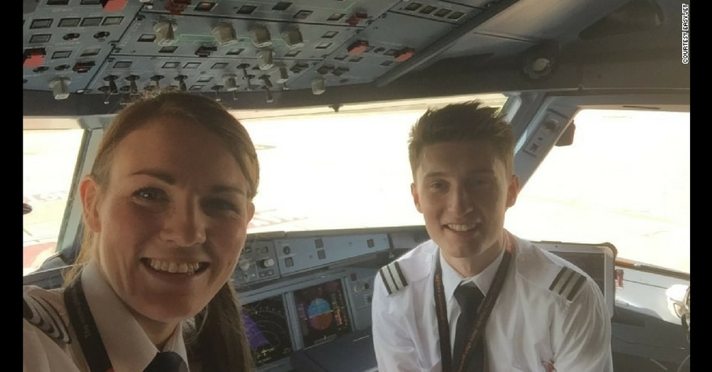 Meet The World's Youngest Female Airline Captain And Her 19-Year-Old Co-Pilot