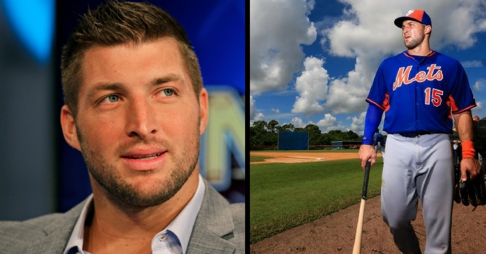 Tim Tebow Leaves Jaws On The Floor After What He Just Did At 1st Pro Baseball Game