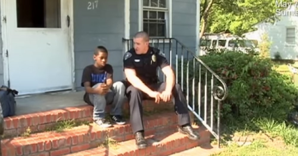 Age 13 Boy Tells Cop He Wants To Run Away, Officer Takes One Look At His Room And Decides To Act
