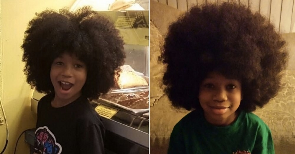10 Year Old Boy Grows Out Hair For 2 Years To Donate Kids With Cancer