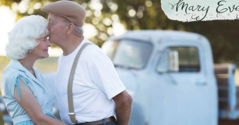 Couple Celebrates 57 Yrs Of Marriage With Photo Shoot Inspired By Favorite Romantic Movie