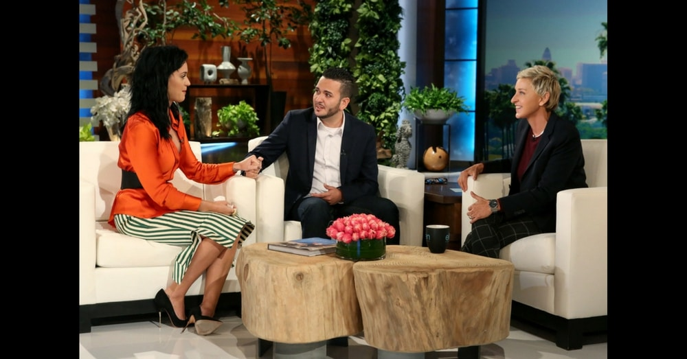 Katy Perry Surprises Orlando Shooting Victim, Then Does Something That Leaves Him In Tears