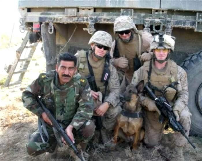 Iireland in Fallujah, Iraq. WLEX