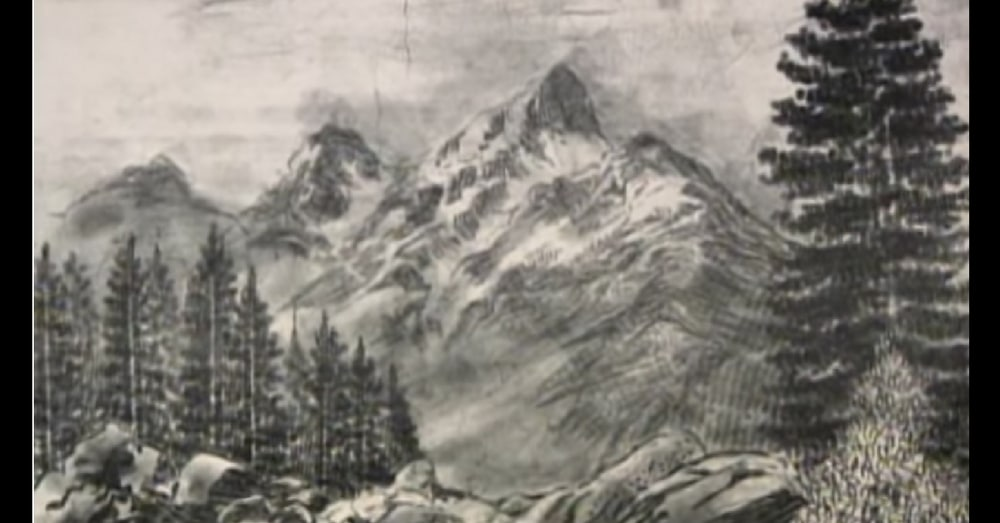 It Looks Like A Normal Painting, But When The Camera Zooms In…Holy Moly!