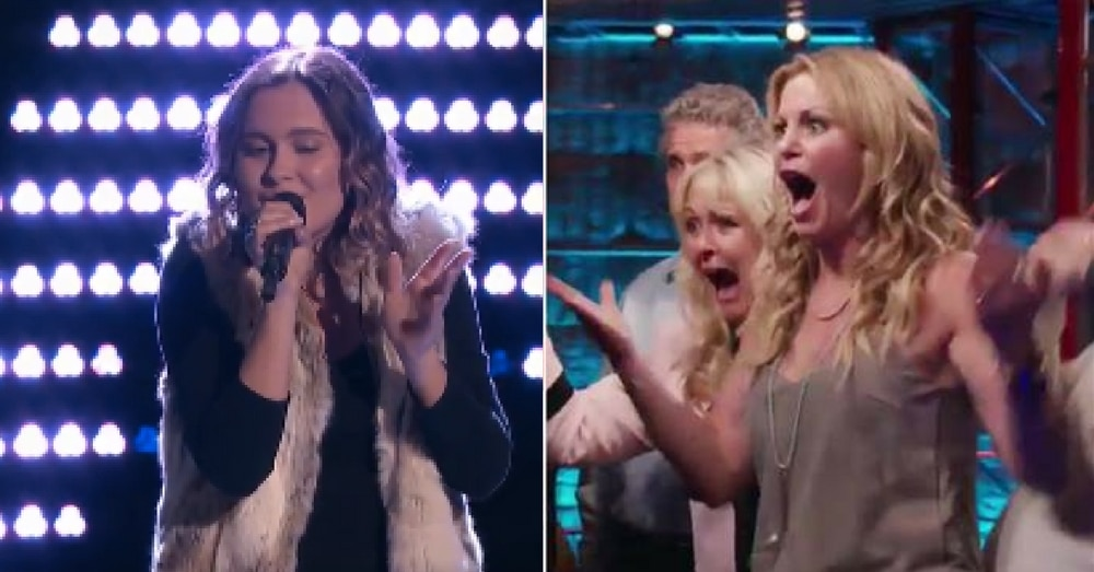 Candace Cameron Bure Cheers On Daughter Natasha In 'Voice' Audition