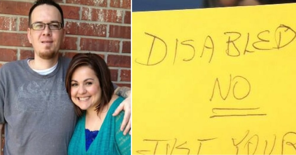 Mom Takes Disabled Husband To Dinner, Then She Finds Note Left On Windshield