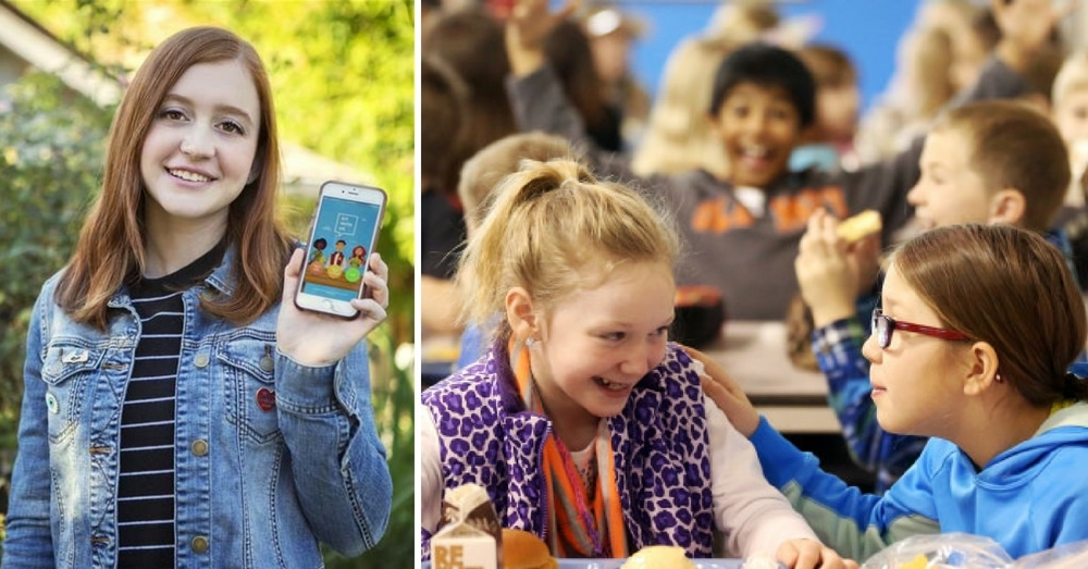 Teen Invents Awesome New App So No Student Ever Has To Eat Alone