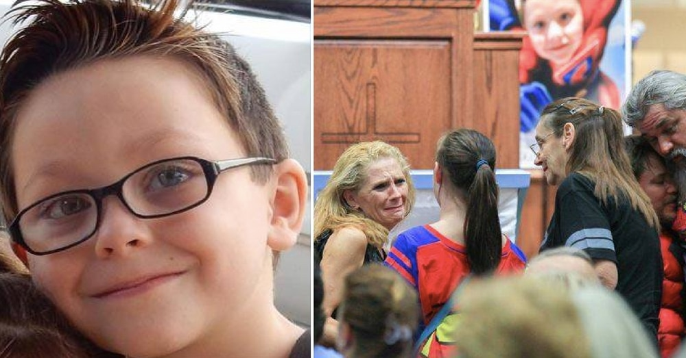 6-Yr-Old Killed In Tragic School Shooting Receives Superhero Send Off