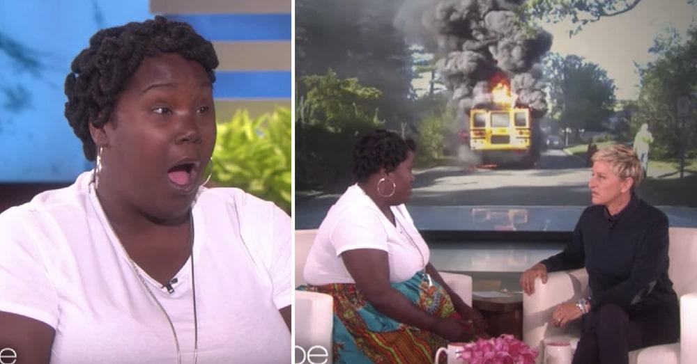 Hero Mom Saves 20 Kids From Burning Bus, Then Ellen Steps In