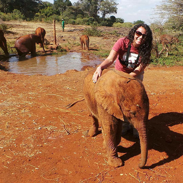 When Jotto the baby elephant was separated from his herd, he was taken to an elephant shelter