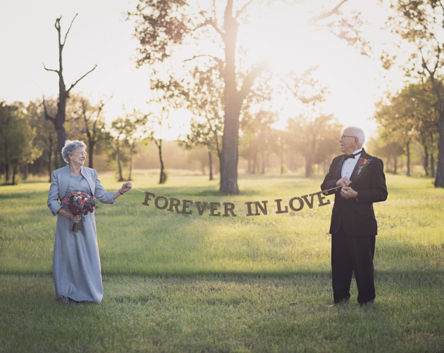 Ferris and Margaret are forever in love. LARA CARTER PHOTOGRAPHY