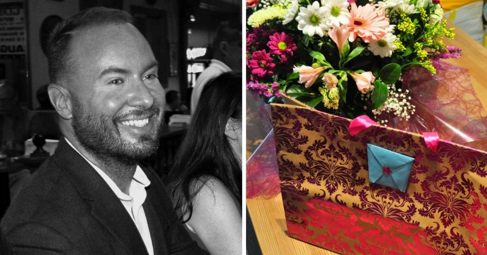 Friend Scoffs When Dad Brings Flowers & Gifts For Ex-Wife. His Response Is Going Viral