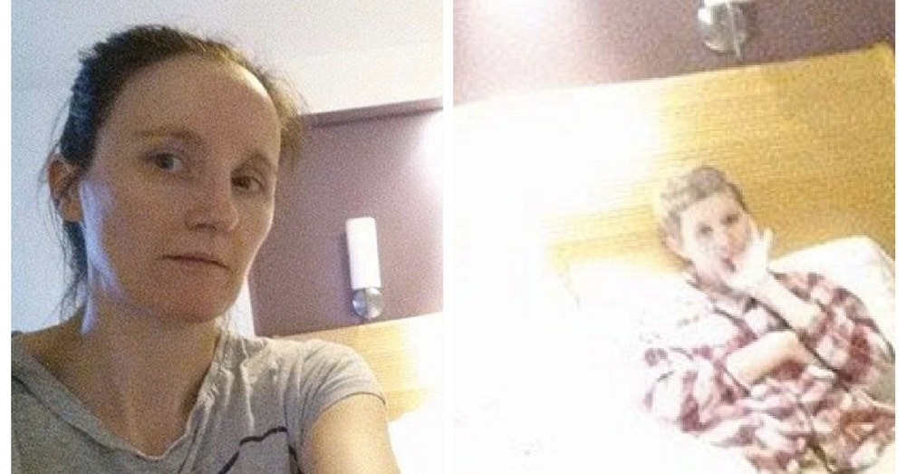 Mom Snaps Photo Of Dying Daughter. What She Sees When She Looks Later Makes Her Gasp