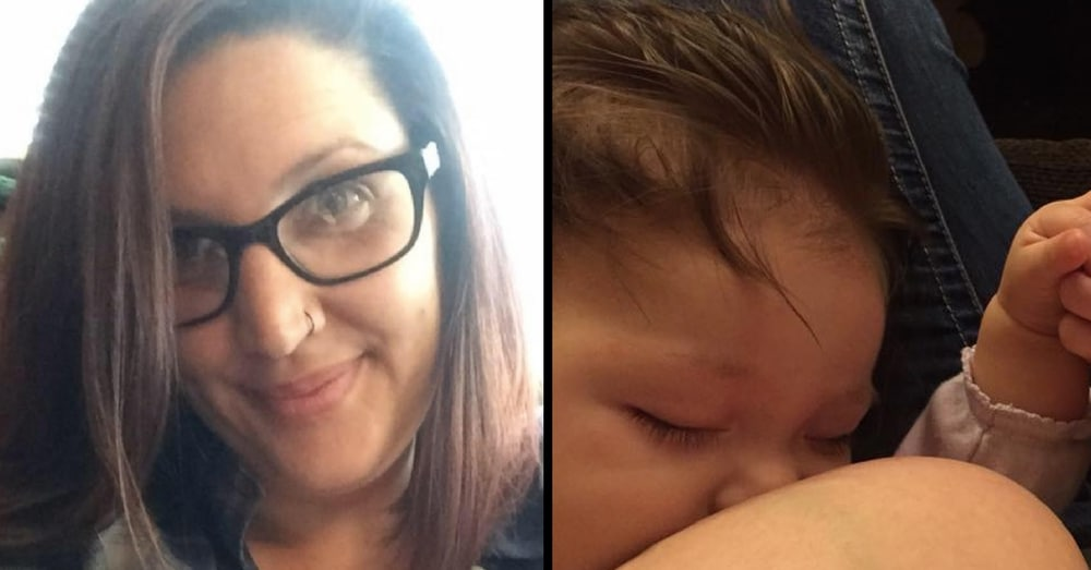 Mom Breastfeeds Stranger's Hungry Baby, Then She Gets A Note