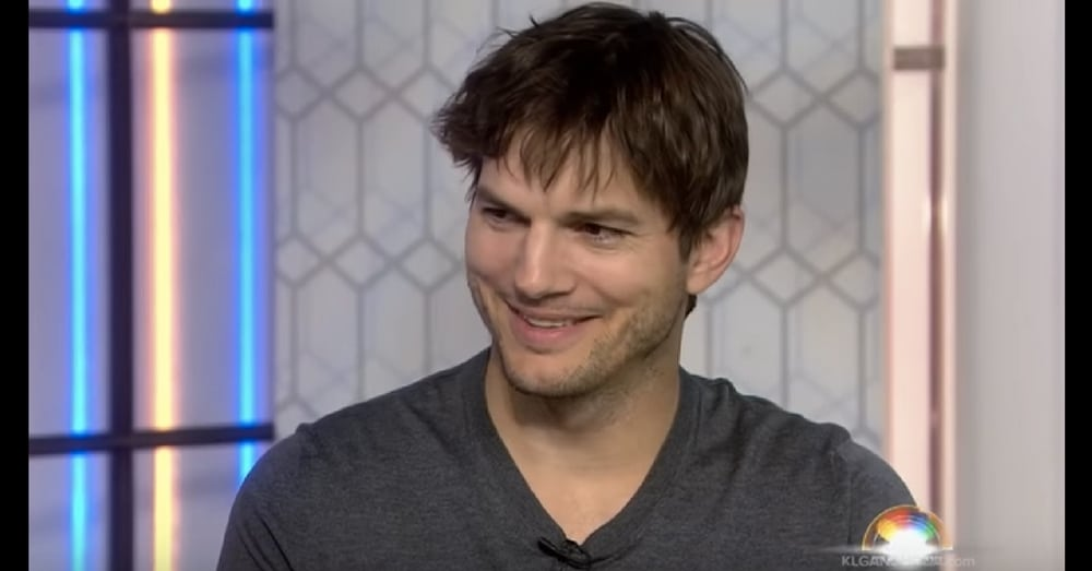 TV Host Asks Ashton Kutcher How She Can Pray For Him. She Wasn't Expecting His Response